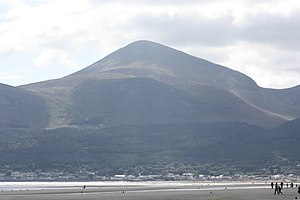 Slieve Donard - Slieve Donard and Newcastle from Murlough Beach