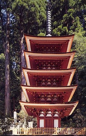 Uda, Nara - View of Muro Temple