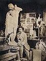 Musée du Vieux Toulouse - L'atelier d'Alexandre Falguière, photographie anonyme de 1865.jpg