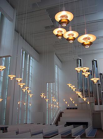 Juha Leiviskä - Myyrmäki Church, Vantaa, 1984.
