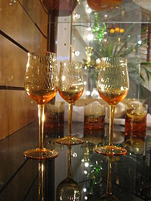 Crystal Bohemia Wine Glasses