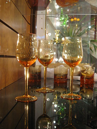 Moser (glass company) - Wine glasses
