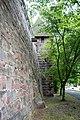 Nürnberg, Stadtbefestigung, Spittlertormauer, Kasemattenturm XXI 20170616 001.jpg