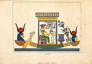Anuket - Anouké ou Anouki (Anucè, Anucis, Istia, Estia, Vesta), N372.2, Brooklyn Museum