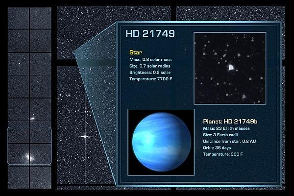 HD 21749 - Wikipedia