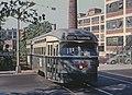 NJPSCT 24 (PCC) crossing Orange Street, September 3, 1965 (22102726064).jpg