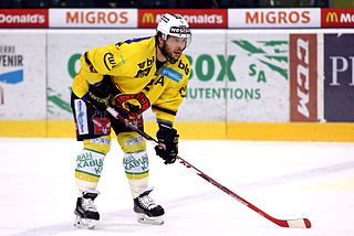 Beat Gerber Swiss ice hockey player
