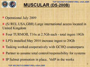 MUSCULAR (surveillance program) - Image: NSA MUSCULAR p 22