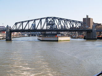 145th Street Bridge - Side view of bridge in 2008