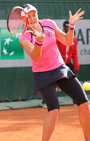 Nadia Petrova - Petrova at the 2013 French Open