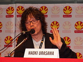 Naoki Urasawa at Japan Expo 2012, Paris (2).jpg