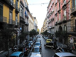 Napoli via duomo