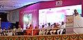 Narendra Modi addressing at birthday centenary celebrations of HH Jagadguru Dr. Sri Shivarathri Rajendra Mahaswamiji of Sri Suttur Math, in Mysuru, Karnataka. The Governor of Karnataka, Shri Vajubhai Rudabhai Vala (2).jpg