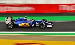 2015 Brazilian Grand Prix - Local driver Felipe Nasr was penalised after qualifying for impeding compatriot Felipe Massa.