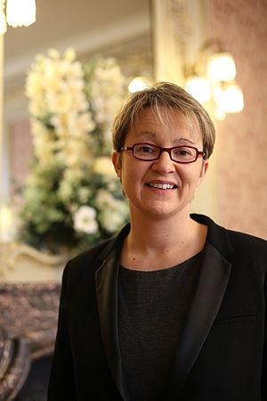 Rennes - Nathalie Appéré, current mayor of Rennes