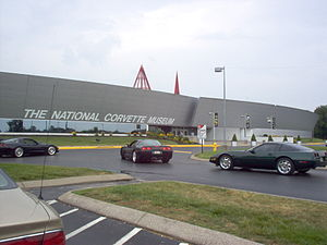 National Corvette Museum - Image: National Corvette Museum, KY