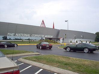 National Corvette Museum - Image: National Corvette Museum, KY