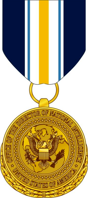 National Intelligence Distinguished Public Service Medal - Image: National Intelligence Distinguished Public Service Medal 2