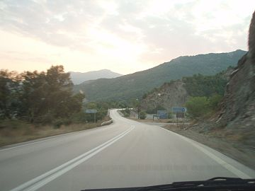 National Road 20, Greece - Section Eptachori-Pirsogianni - Smolikas Mountain in the background - 03.jpg
