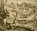 Native Americans hunting on Mount Desert Island (1622).jpg