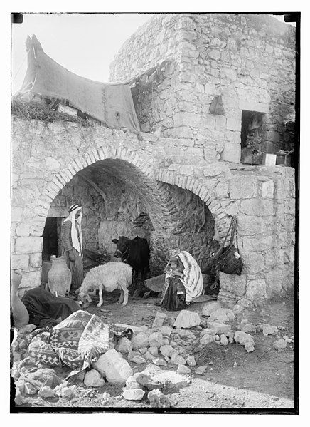 File:Native home. 'No room at the Inn' LOC matpc.10504.jpg