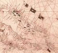 Nautical chart of the Mediterranean area, including Europe with British Isles and part of Scandinavia. HM 1548. anonymous, PORTOLAN CHART (Italy, 15th century).N.jpg