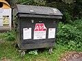 Nedamov, kontejner na směsný odpad.jpg