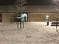 Neige près Bibliothèque Perec Champs Marne 1.jpg