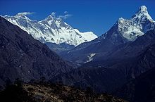 Nepal Mount Everest And Ama dablam.jpg