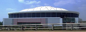 2006–07 NCAA Division I men's basketball season - The Georgia Dome was the site of the Final Four and Championship game to end the 2006–07 season.