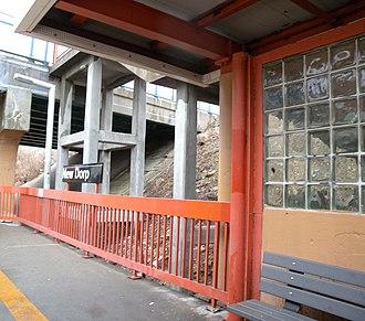 New Dorp (Staten Island Railway station) - Southbound platform