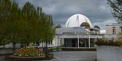 New Hall porters lodge and dome.jpg
