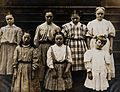 New York State Institute; a group of girls with Down's syndr Wellcome V0030055.jpg