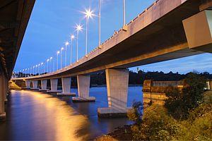 Iron Cove Bridge - Image: New iron cove bridge, new south wales