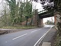 Newton Road (B6026) and Sunny Bank Footpath - geograph.org.uk - 1140175.jpg