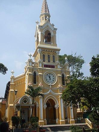 1963 South Vietnamese coup - Image: Nhà thờ Cha Tam