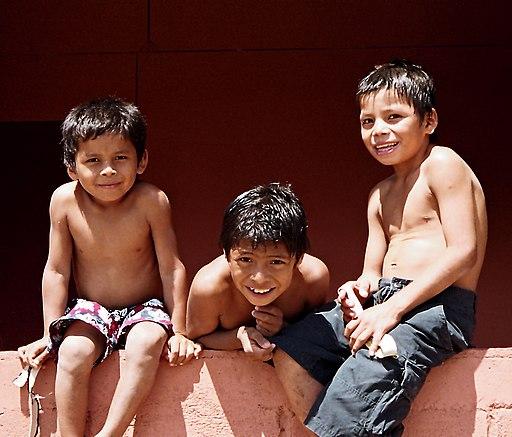Niños en Masaya