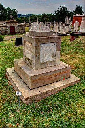 Nick Begich - Begich's memorial at the Congressional Cemetery.