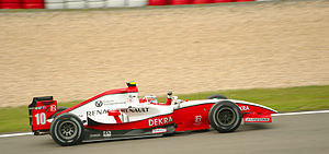 2009 GP2 Series - Nico Hülkenberg won the championship by a margin of 25 points over Vitaly Petrov. His team ART Grand Prix also wrapped up the teams' title, holding off Barwa Addax by 14 points.