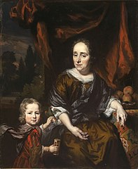 Portrait of a Woman and a Child