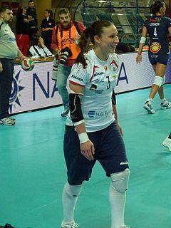 Nicole Davis volleyball player
