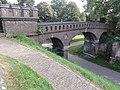 Nijmegen Rijksmonument 523059 Hunnerpark voetbrug.JPG