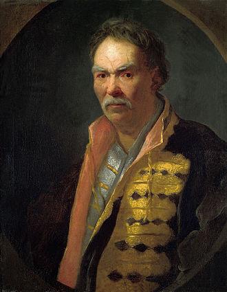 Ivan Nikitin (painter) - Hetman (Pavlo Polubotok?), 1720s