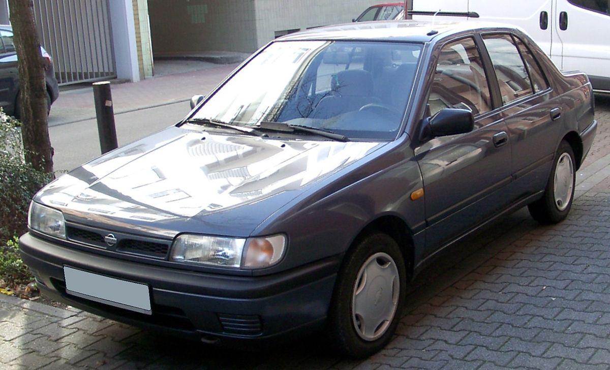 Nissan Sunny Википедия