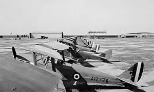 No. 5 EFTS RAAF Tiger Moths (AWM P00150.008).JPG