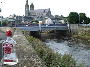 English: No message in a bottle, Omagh Only th...