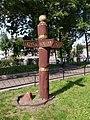 Noginsk TrInt 57 wooden sign 01.JPG