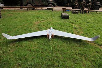 Nordic Battlegroup - Aeronautics Orbiter UAV of the Irish Defence Forces