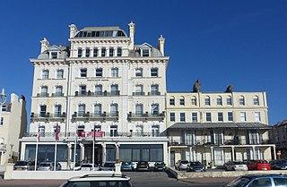 Norfolk Hotel, Brighton Grade II listed hotel in Brighton, UK