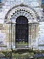 Norman doorway, St Mary the Virgin, Bishopstone, Swindon - geograph.org.uk - 355578.jpg